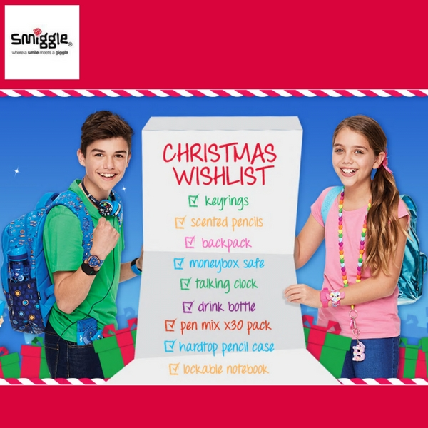 Christmas gifts at Smiggle