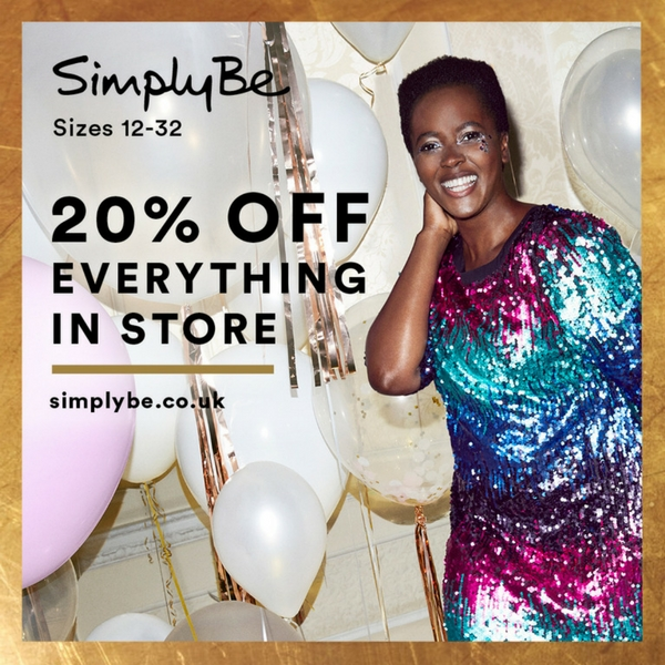 Take 20% off at Simply Be