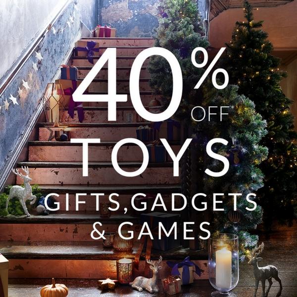 Massive toy savings at Debenhams
